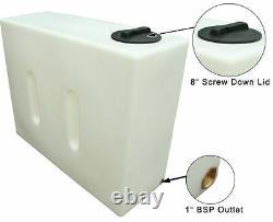Ecosure 500 Litres Var 1 Vertical Car Valeting Nettoyage De Vitres Baffled Réservoir D'eau