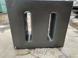 Ecosure 750 Litre Ltr Large Slim Water Butt Rain Harvesting Tank Window Cleaning
