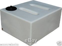 Ecosure 750 Litres V2 Wagon Plat À Déflecteur Servant Au Nettoyage Du Réservoir D'eau