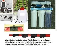 Extend2wash. Pôle Alimenté L'eau. Nettoyage Fenêtre Kit De Démarrage