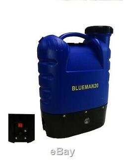 Fenêtre De Nettoyage De L'eau Fed Pole 20 Backpack Blueman Unité De Pompage Complète 20