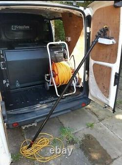 Fiat Doblo Fenêtre-nettoyage Van Avec Système Alimenté À L'eau