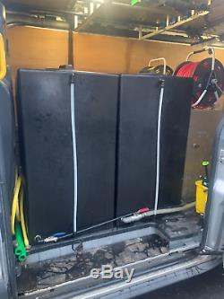 Ford Transit Tendance Fenêtre D'eau Chaude Nettoyage De Nettoyage À La Vapeur Style Wash Jet