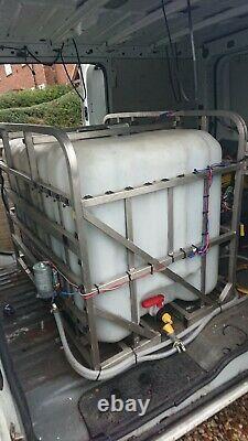 Kit De Nettoyage De Fenêtres Proffesional De 600l Framed Pure Freedom Water System