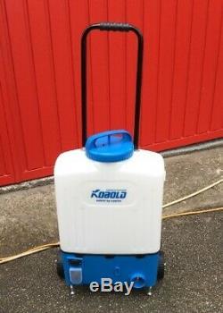 L'eau Alimentée Fenêtre Pôle De Nettoyage Sac À Dos À Roulettes Kobold Avec Chargeur