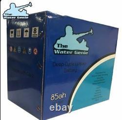 Le Génie De L'eau 85ah Cycle Profond De La Fenêtre De La Batterie De Loisirs De Nettoyage Pam 12volt