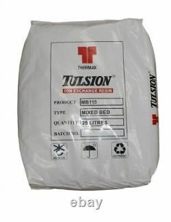 Lit Mixte Tulsion Mb-115 DI Résine Pour Nettoyage De La Fenêtre Du Pôle Alimenté Par L'eau