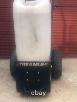 Nettoyage Fenêtre Streamline Streamflo 25litre Système Chariot Avec L'eau De La Fed Poll