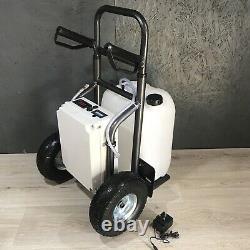 Nettoyer La Fenêtre De Chariot À Eau Laver Les Produits Chimiques Doux 100psi