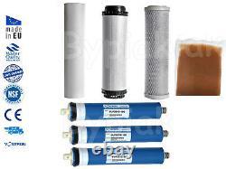 Osmose Inversée DI Nettoyage De La Fenêtre De La Fed Pole D'eau Remplacement Des Filtres Ro 450gpd