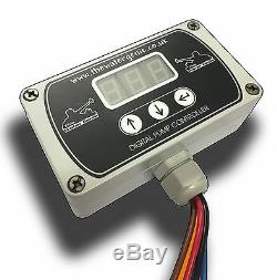 Pompe Genie Eau Contrôleur Intégré Chargeur De Batterie 0-99 Pam Nettoyage De Vitres