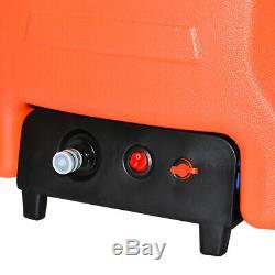 Portable 19.68ft Eau Fed Nettoyage Pôle + 30l Réservoir Solaire Fenêtre Outil De Nettoyage