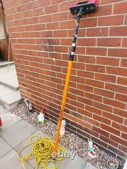 Pure Freedom Fenêtre De Nettoyage De L'eau Fed Pole Trolley System Avec Pole 18ft
