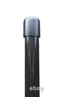 Pure Gleam XC 25 Carbon Fibre Water Fed Pole 25ft 100% Rigid 3k Carbon Fibre