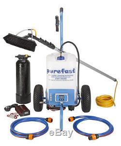 Purefast Eco25 Pur Fenêtre D'eau Complète Chariot De Nettoyage Démarrage Paquet