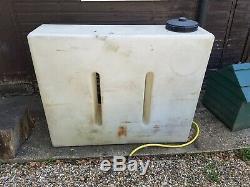 Réservoir D'eau, 400 Litres, Valeting Portable / Nettoyage Des Vitres Avec Le Support Raccord