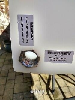 Réservoir D'entreposage De Camping En Plastique Plat De 450 Litres De Nettoyage De Fenêtre D'eau Plate Valeting