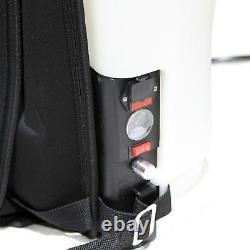 Sac À Dos De Nettoyage De Fenêtre 16l Réservoir De Poteau Alimenté Par L'eau Aquaspray Portable Batterie 12v