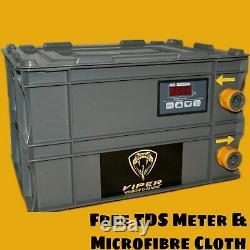Shurflo 100psi Fenêtre Nettoyage / Eau Chimique Fed Pole Pompe Box. Pas D'eau Genie