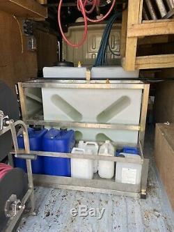 Softwash Du Système D'eau Pure Peugeot Boxer L3h2 Fenêtre Nettoyage + Tva