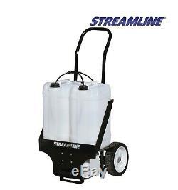 Streamflo-50 Portable Pur Nettoyage Fenêtre Eau Système Chariot 50ltr