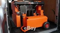 Système De Chariot De Nettoyage De Vitres De 45 Litres Pour Utilisation Avec Des Poteaux Alimentés En Eau