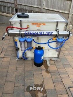 Système De Nettoyage De Fenêtres Varitech Streamline 500 Litre Entrepreneur Ro Pure Water