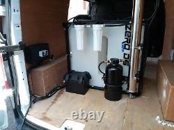 Système De Nettoyage De La Fenêtre De Potence De L'eau 410lt DI Un Seul Opérateur