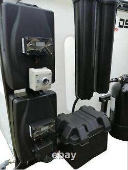Système De Nettoyage De La Fenêtre Du Poteau De L'eau 650lt Full Ro/di Deux Opérateurs