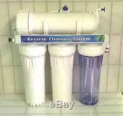 Système De Nettoyage De Vitres Alimenté Par Eau Pour Unité D'osmose Inverse L10, 400 Gpd