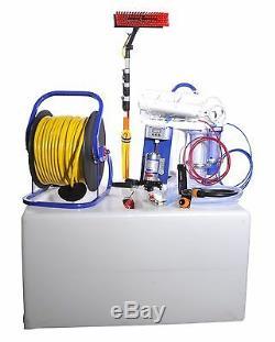 Système De Nettoyage De Vitres Pour Poteaux Alimentés À L'eau Pro 500 Ltr