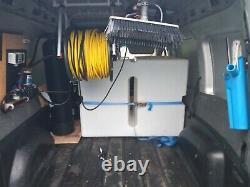 Système De Nettoyage Des Fenêtres Équipement Alimenté À L'eau Pôle Réservoir Pompe Contrôleur Bobine £ £