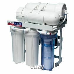 Système Osmose Inverse 400gpd En 5 Étapes Pour Le Nettoyage Des Fenêtres De L'eau Potable Pompée