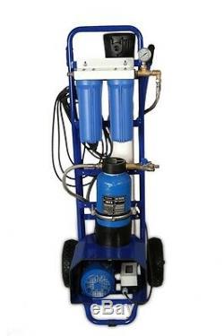 Système Ro Électrique Mobile Purifier L'eau Sur Site