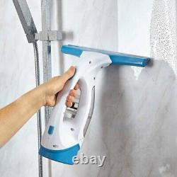 T131001 Twv10 Nettoyeur De Fenêtre Léger Rechargeable Sans Fil, Réservoir D'eau De 150ml