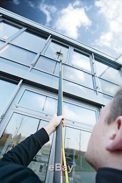 Unger Nlite Connect Fibre De Verre Pur Nettoyage Fenêtre Eau Passage D'eau