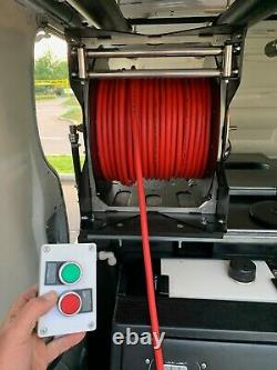 Van De Nettoyage Des Fenêtres Renault Trafic + Grippatank Hot Pure Water System