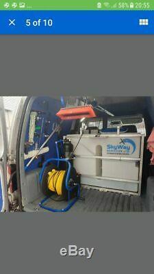 Volkswagen Caddy 2006 Nettoyage Des Vitres Van Eau Fed Pole