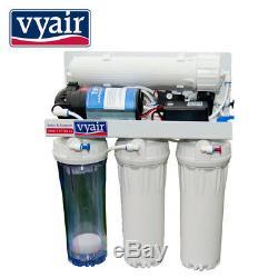Vyair 100gpd Pumped 4-stage Osmose Inverse Poissons Et Aquarium D'eau Système De Filtration