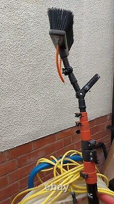 Water Fed Pole Nettoyage Des Fenêtres Gardiner Sac À Dos Avec Chariot Et Ionic Pole