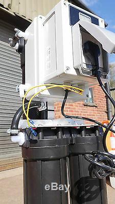 Xline 2000gpd Auto Flush & Fill Statique 4-stage R / O Pur Système De Filtration D'eau